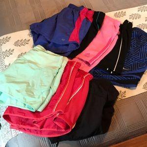 8 Pairs Athletic Shorts Bundle